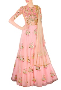 blush-pink-beige-embellished-lehenga-set
