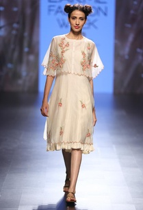 cream-coral-floral-embroidered-cape-dress
