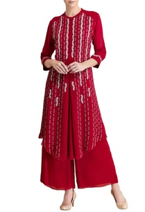 red-white-embroidered-tunic