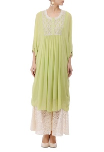 leaf-green-ivory-embroidered-tunic