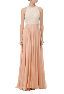 peach-ivory-embroidered-maxi-gown