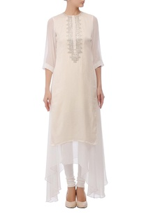 ivory-silver-embellished-layered-kurta-set
