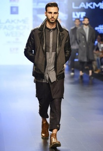 black-grey-quilted-biker-jacket