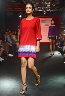 crimson-red-embroidered-short-dress