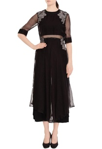 black-crop-top-culotte-set