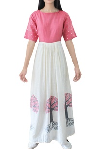 red-ivory-tree-handwoven-jamdani-dress