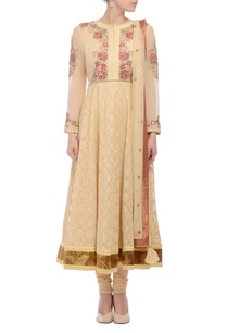 beige-anarkali-with-pink-embroidery