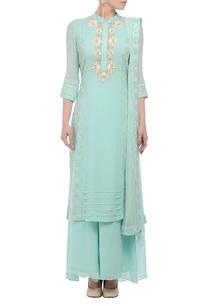 blue-embroidered-kurta-palazzo-set