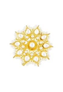 gold-pearl-kundan-embellished-ring