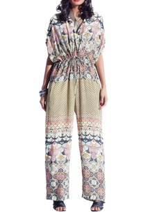 lime-yellow-pink-multi-print-jumpsuit