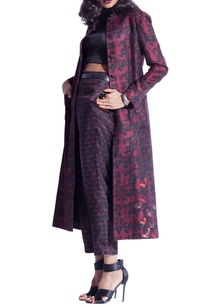 wine-red-black-jacket-with-butterfly-embroidery