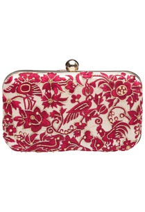 off-white-and-maroon-embroidered-clutch