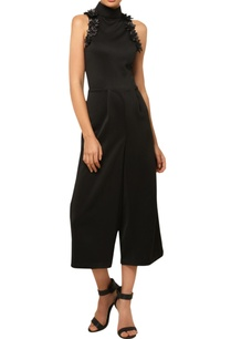 black-3d-embroidered-jumpsuit