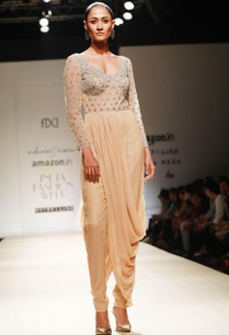 honey-embroidered-dhoti-drape-jumpsuit