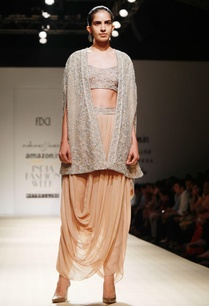 sand-drape-dhoti-with-sequined-bustier-cape
