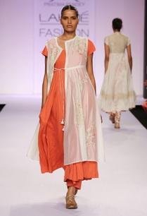 white-orange-embroidered-kurta-with-palazzo