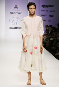 white-pin-tuck-embroidered-dress