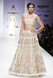 white-pink-floral-embroidered-lehenga-set