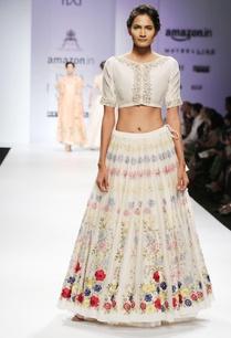 white-pink-dabka-floral-embroidered-blouse-lehenga-set