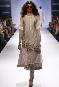 ivory-embroidered-tunic-with-grey-anarkali-pants