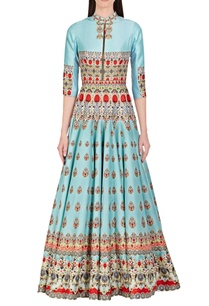 porcelain-blue-digital-jewel-printed-anarkali