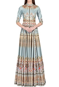 light-blue-digital-baroque-printed-anarkali