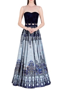 blue-grey-printed-gown