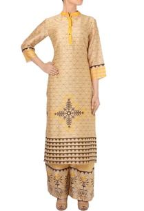 beige-black-yellow-tunic-with-palazzos