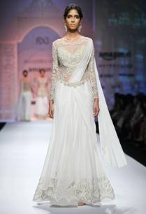 white-gold-embroidered-yoke-sari-gown
