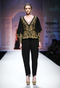 black-embroidered-cape-jacket