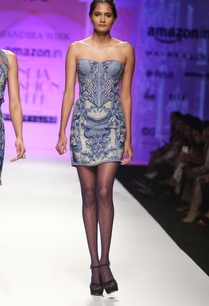 blue-grey-embroidered-tube-dress