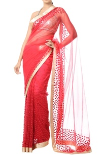 coral-pink-floral-thread-embroidered-sari