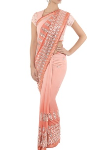 powder-pink-silver-embroidered-sari