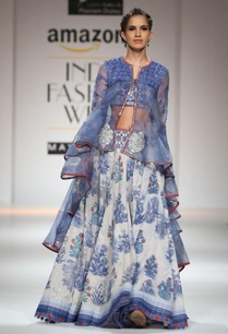 white-blue-printed-skirt-with-jacket-set