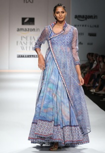 white-blue-printed-anarkali-with-jacket