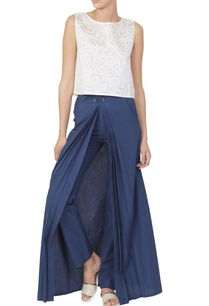 blue-pants-with-white-cutwork-top