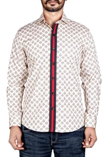 cream-printed-shirt-with-placket-detailing