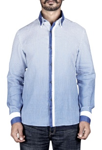 blue-white-printed-shirt-with-placket-detailing