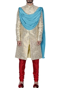 cream-gold-brocade-sherwani