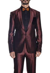 metallic-red-black-tuxedo-suit