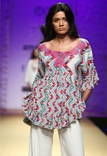 white-multicolored-printed-embroidered-tunic