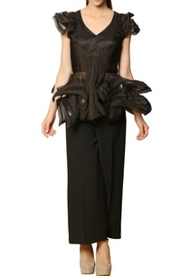black-draped-peplum-top