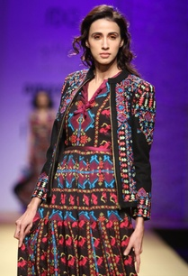 black-multicolored-embroidered-jacket