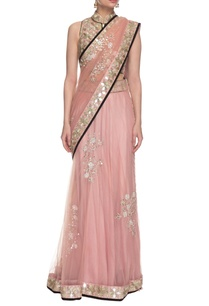 powder-pink-mirror-embellished-lehenga-set