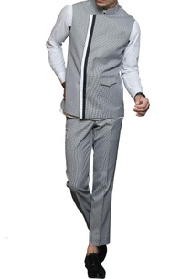 grey-white-printed-nehru-jacket