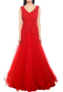 scarlet-floral-embroidered-gown
