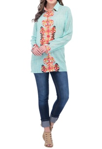 mint-floral-printed-shirt
