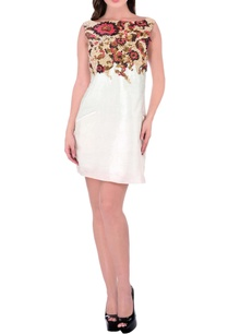 white-knee-length-dress-with-floral-embroidery
