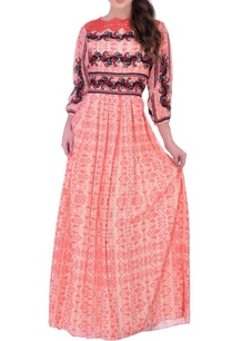 peach-maxi-dress-with-textured-embroidery