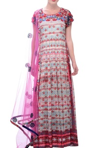white-printed-embroidered-anarkali-dress
